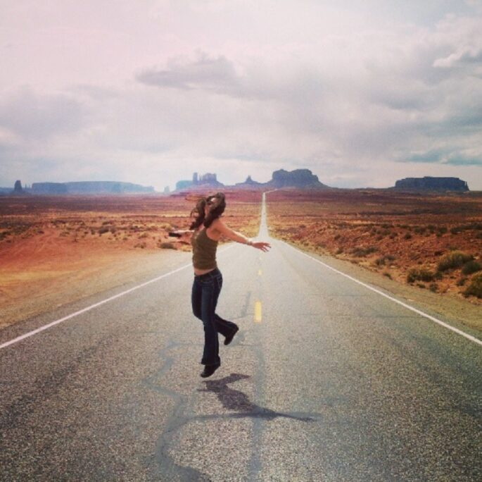 bianca te rito monument valley arizona usa